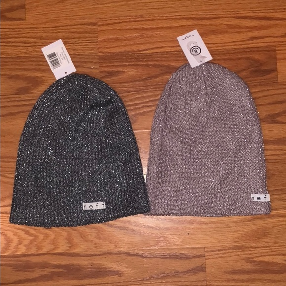 8126c2d1038 Rose and grey Neff beanie